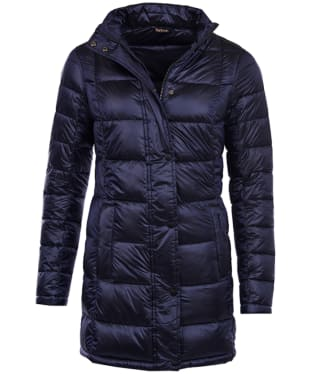Women's Barbour Clyde Long Quilted Jacket