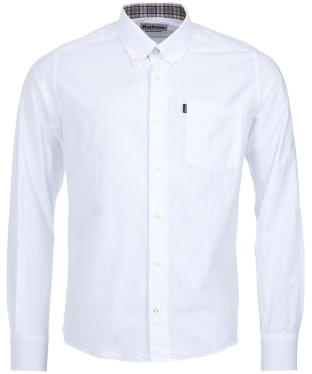 Men's Barbour The Oxford Tailored Fit Shirt - White
