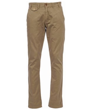 Men's Barbour Neuston Twill Chinos - Stone