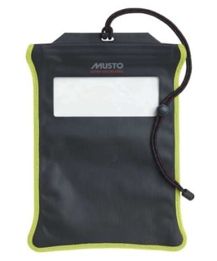 Musto Evo Waterproof Tablet Case - Black