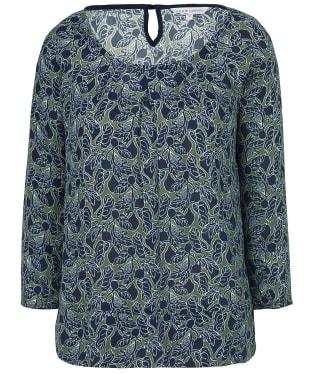 Women's Crew Clothing Kourtney Top - Fig / Khaki