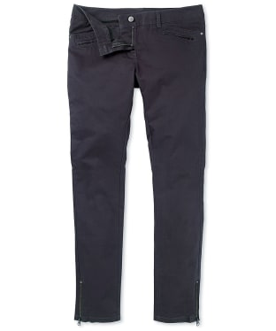 Women's Crew Clothing Benwick Trousers - Charcoal