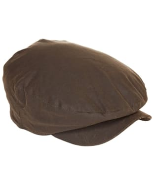 Men's Barbour Cheviot Tartan Cap - Olive