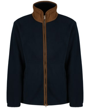 Men's Alan Paine Aylsham Windblock Fleece - Dark Navy