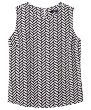 Women's GANT Braid Print Top