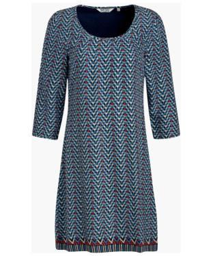 Women's Seasalt Chapel Dress - Net Chevron French Navy