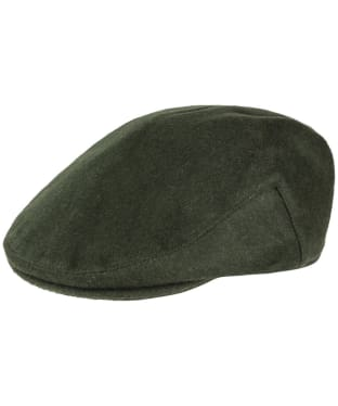 Men's Alan Paine Loden Flat Cap - Olive