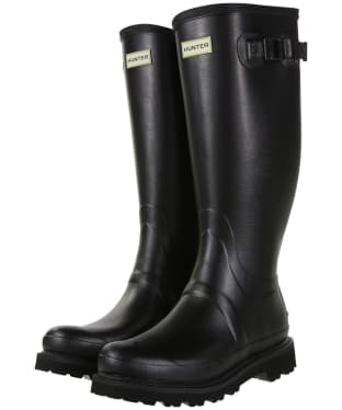Men's Hunter Field Balmoral II Wellingtons - Black