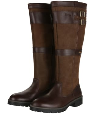 Women's Dubarry Longford Leather Boots - Walnut