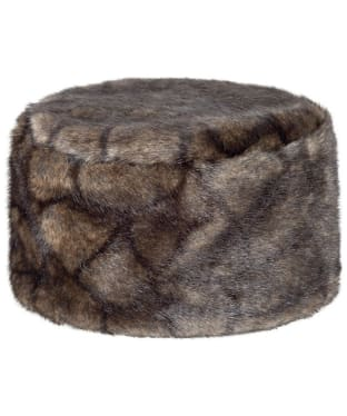 Women's Dubarry Avoca Fur Pill Box Hat - Elk