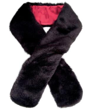 Women's Dubarry Faux Fur Scarf - Black
