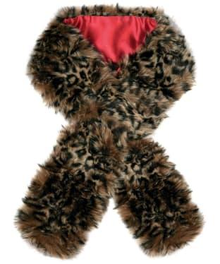 Women's Dubarry Faux Fur Scarf - Leopard