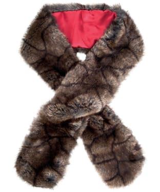 Women's Dubarry Faux Fur Scarf - Elk