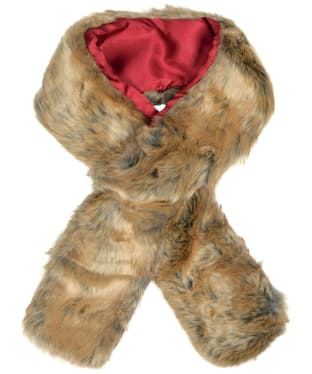 Women's Dubarry Faux Fur Scarf - Chinchilla
