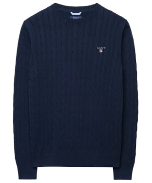 Men's GANT Cotton Cable Crew Sweater