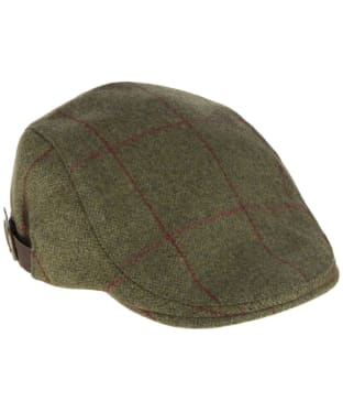 Alan Paine Combrook Waterproof Unisex Tweed Cap - Sage