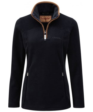 Women's Schoffel Tilton 1/4 Zip Fleece - Navy