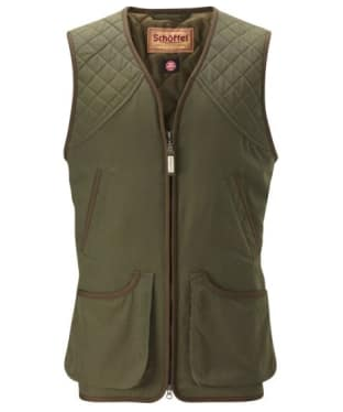 Men's Schöffel Stamford Shooting Vest - Hunter Green