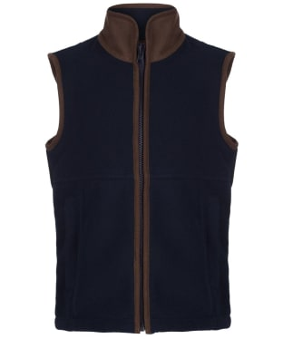 Children's Alan Paine Aylsham Fleece Waistcoat, 3-16yrs - Dark Navy