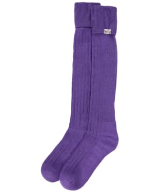 Dubarry Alpaca Socks - Purple