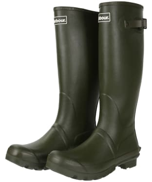Men's Barbour Bede Wellingtons - Olive