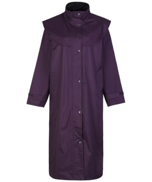 Women's Jack Murphy Heritage Malvern Waterproof Coat - Blackberry