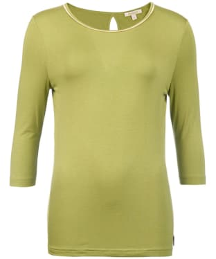 Women's Barbour Monteviot Top - Field Green