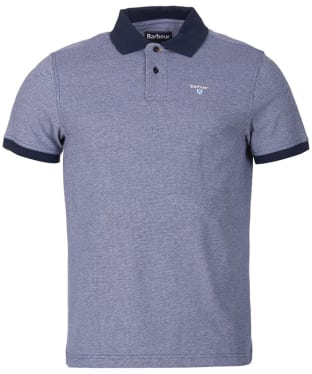 Men's Barbour Sports Polo Mix Shirt - Midnight