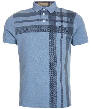 Men's Barbour Howard Polo Shirt - Powder Blue
