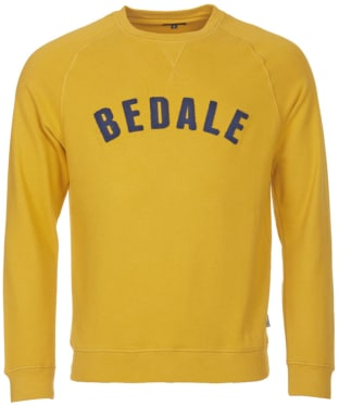 Men's Barbour Affliate Crew Neck Sweater - Mustard