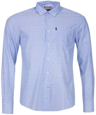 Men's Barbour Cuthbert Shirt - Sky