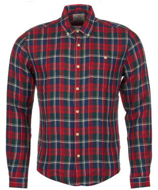 Men's Barbour William Shirt - Rich Red Check