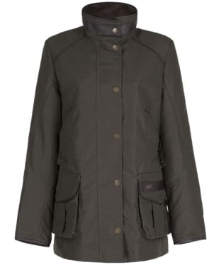 Women's Dubarry Leslie Waterproof Jacket - Dark Olive