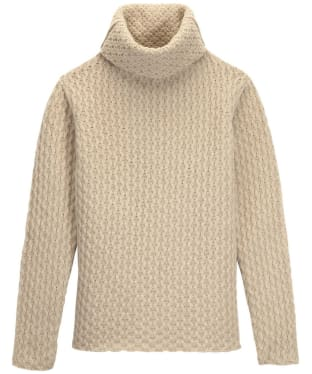 Women's Aigle Macdom Honeycomb Roll Neck - Wool Angora