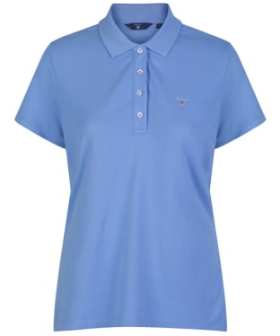 Women's GANT Original Pique Polo Shirt - Pacific Blue