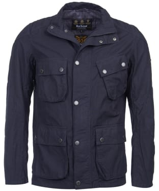 Men's Barbour International Smokey Tailored Jacket - Navy
