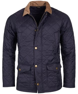 Men's Barbour Canterdale Quilted Jacket - Navy