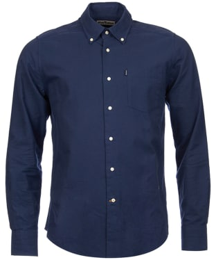 Men's Barbour Oxford 1 Tailored Shirt - Navy