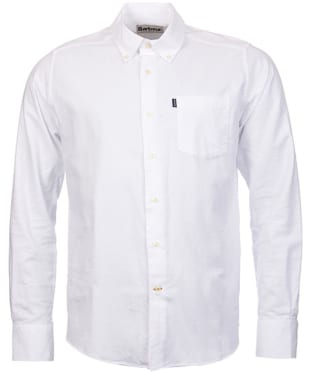 Men's Barbour Oxford 1 Tailored Shirt - White