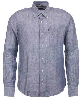 Men's Barbour Frank Tailored Fit Shirt - Navy