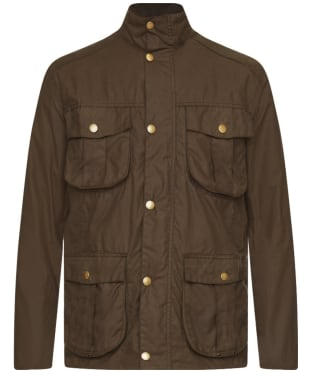 Men's Barbour New Utility Wax Jacket - Bark