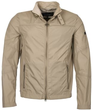 Men's Barbour International Tailored Track Jacket - Military Brown