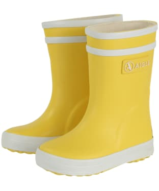 Baby Aigle Flac Rain Boots - New Yellow