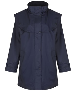 Jack Murphy Heritage Cotswold Waterproof Cape Coat - Navy