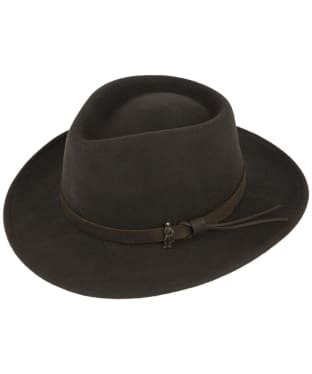 Men's Jack Murphy Boston Jack Felt Hat - Olive