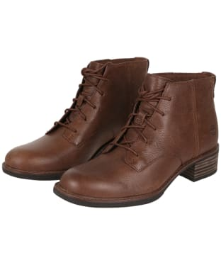 Women's Timberland Beckwith Lace Up Chukka Boots - Dark Brown