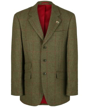Men's Alan Paine Combrook Regular Length Blazer - Sage
