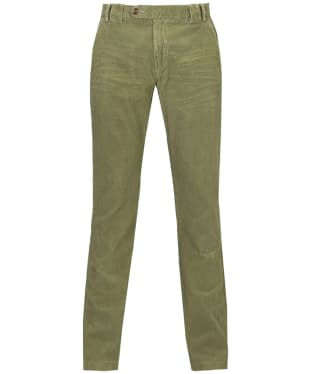 Men's Barbour Claremount Cord Trousers - Bleached Olive