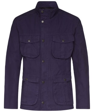 Men's Barbour Washed Utility Jacket - Navy