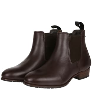 Women's Dubarry Cork Boots - Mahogany